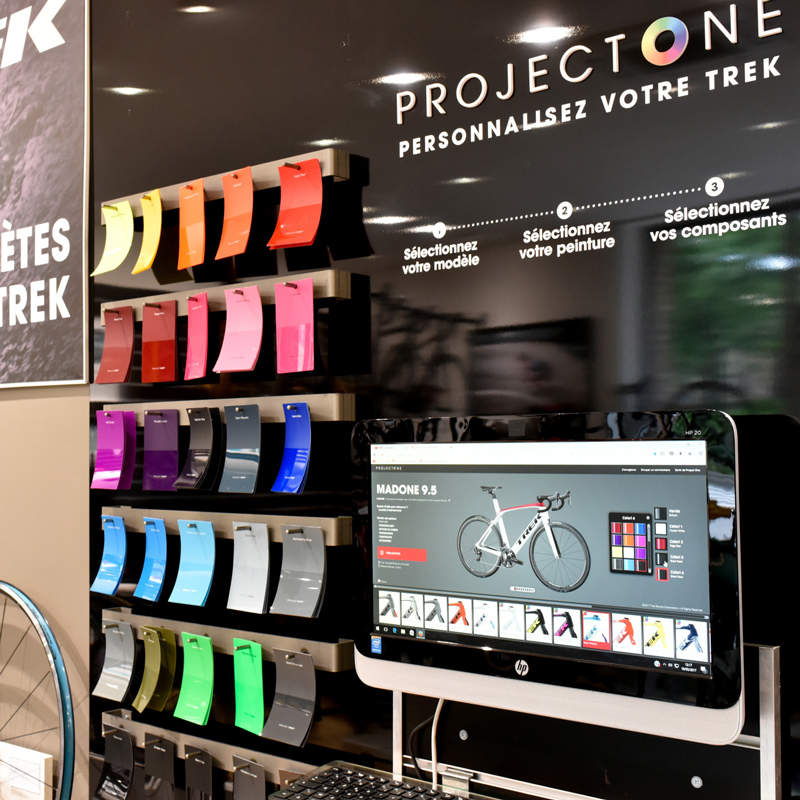 Trek Project One Shop, Cité2Roues Trek Concept Store Toulouse