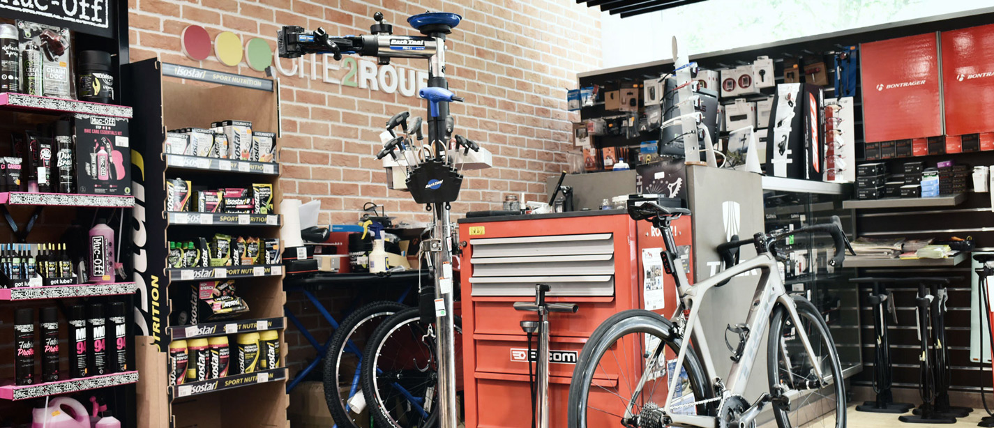 atelier, Cité2Roues Trek Concept Store Toulouse