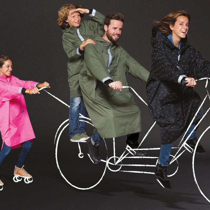 vêtements de pluie Nooc, Cité2Roues Trek Concept Store