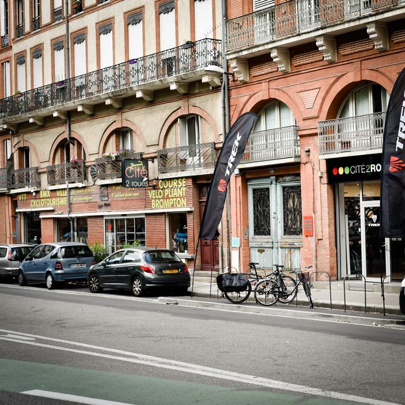 conseil, Cité2Roues Trek Concept Store Toulouse
