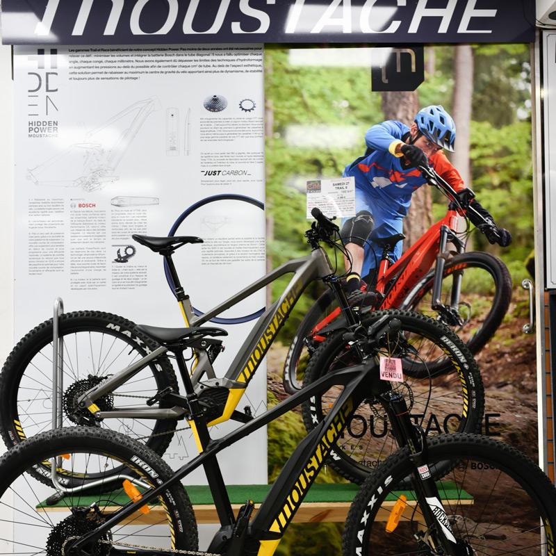 Moustache corner, Cité2Roues Trek Concept Store Toulouse